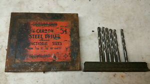 Machinist Lathe Tool Mill Machinist Vintage Cleveland Drill Advertising Set 51