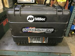 Miller Suitcase 12vs Extreme Wire Feeder Miller 12vs Suitcase Extreme Will Ship