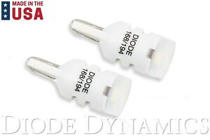 Diode Dynamics 194 Hp3 Led Lights Bulbs Cool White 6000k Made In Usa