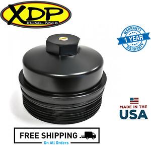 Xdp Billet Oil Filter Cap Fits 2003 2010 Ford 6 0l 6 4l Powerstroke