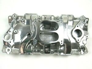 1957 1995 Small Block Chevy 350 383 Aluminum Intake Manifold Polished Bpe 4001p