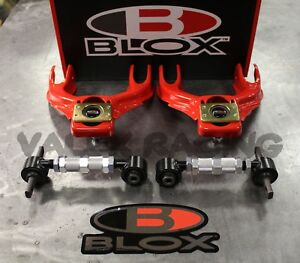 Open Box Blox Competition Front Rear Camber Kit Combo 92 95 Civic 94 01 Integra