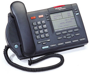 New Nortel M3904 Display Telephone Set charcoal