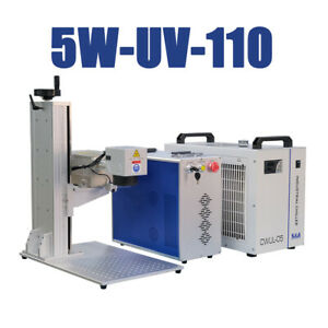 5w Uv Laser Marking Machine 110x110mm Engraving Machine Laser Marker Water Cool
