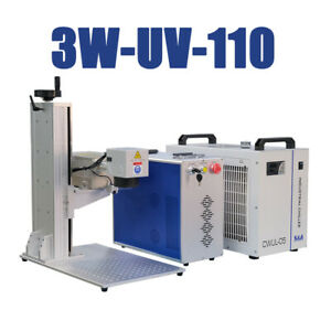 3w Uv Laser Marking Machine 110x110mm Engraving Machine Laser Marker Ce Fda