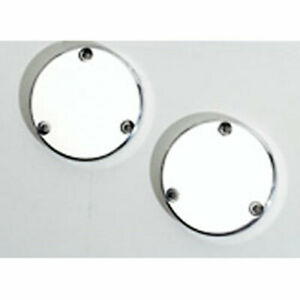 The Blower Shop 1161 Grease Cover Plates Polished Pair