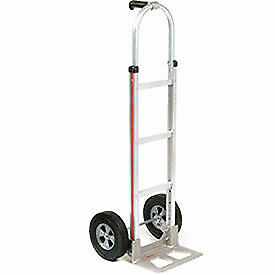 Magliner Aluminum Hand Truck With Pin Handle Semi pneumatic Wheels