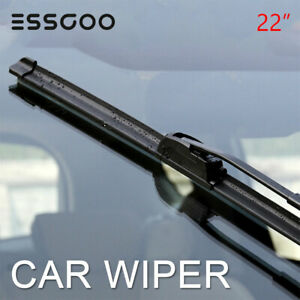 1pcs Essgoo 22 Combo All Season U Or J Hook Bracketless Windshield Wiper Blades