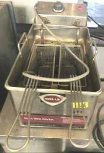 Wells Llf 14 Counter Top Electric Fryer