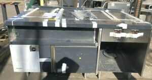 Delfield Steam Table With Refrigerated Side Mark7000 20110z626