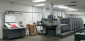 Ryobi 756pxle 30 6 color Printing Press Rmgt 7 series Heidelberg Komori