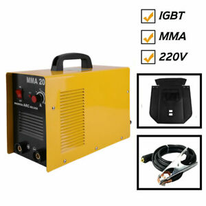 Mma 200 Welder Welding Machine Automatic Solder Inverter Arc Tig Portable Mi