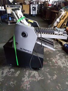 Baum 714 Folder Right Angle Unit On Special Stand Runs