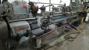 South Bend Metal Lathe Model Cl155 W 14 Foot Long Bed And Taper Attachment