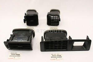 Toyota Land Cruiser Lexus Lx450 Fzj80 Oem Air Vents Register Assy 1996 97 Set