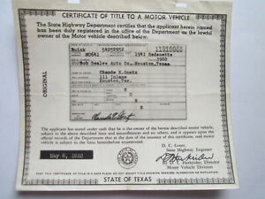 1941 Buick Sedanette Barn Find Historical Document