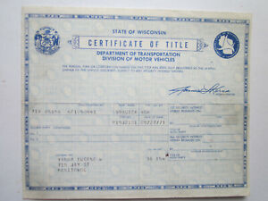 1959 Buick 4 Door Barn Find Historical Document