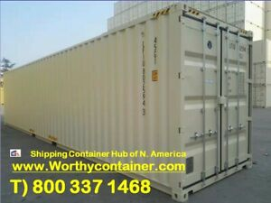 New Shipping Containers 40 Hc One Trip price Different Upon Delivery Conditions