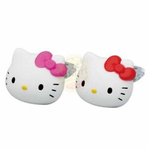 4pcs Hello Kitty Car Air Conditioning Vent Clip Perfume Air Freshener Fragrance