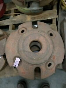 Am2795 10 Rear Wheel Weight Set Wd Wd45 D17 Allis Chalmers Tractor
