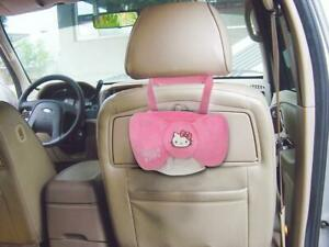 New Hello Kitty Bow Knot Tissue Box Cover Car Accessories