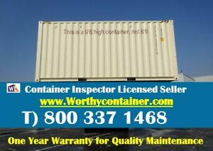 Double Door dd 20 High Cube One Trip Shipping Container In Houston Tx