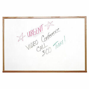 Ghent Marker Board With Markers White 24 X 18