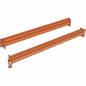 Steel King Solid Beams For Boltless Pallet Racks 108x4