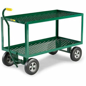 Little Giant 2 shelf Landscaping Cart 48 wx24 dx32 h