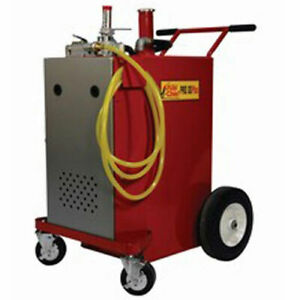John Dow30 gallon Gas Caddy W air Pump