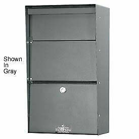 Jayco Wall Mount Vertical Stainless Letter Locker Mailbox