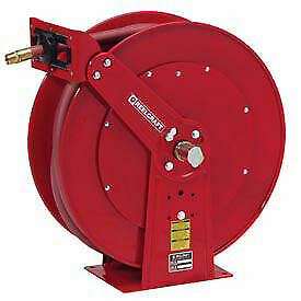 Dual Pedestal Reel Air water With Hose 1 X 50ft 250 Psi