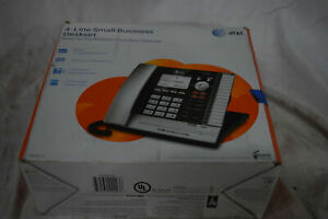 At t Ms2015 4 Line Small Business System Phone New In Box