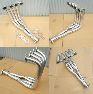 H22 Swap Header Tri Y H22a Stainless Steel Civic Integra