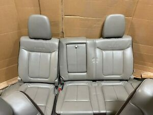 Ford F 150 F150 Platinum Rear Leather Split 60 40 Bench Seats