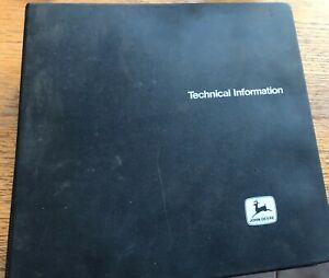John Deere Tractor 650 And 750 Tractors Technical Manual
