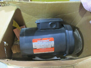 Reliance Electric Rockwell 1 Hp 3 Phase Motor Pt B79c5972m ja Fc143tc Frame