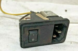 Hunter Alignment Machine Plug On Off Switch 136 50 1 Assembly P112
