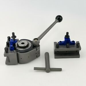 A Multifix 40 Position Tool Post And 2pcs Ad2080 Turning Tool Holder Multifix A1