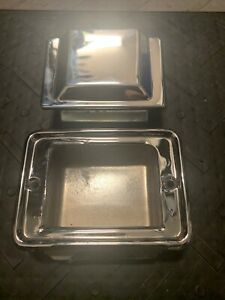1981 1987 Grand National T type Gnx Front Bench Bucket Seat Chrome Ash Tray Trim