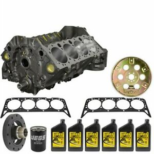 Atk Engines Sp04k High Performance Short Block Kit Small Block Chevy 350ci 4 Bol