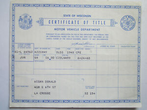 1948 Oldsmobile Coupe Barn Find Historical Document