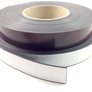 2 Flexible Magnetic Tape 05 X 12 Feet Magnetic Strip Roll Strong Self Adhesive