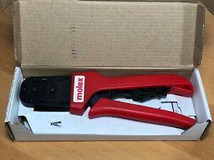 Molex 63819 1300 Hand Crimp Tool New