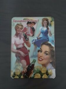 """Springtime Pleasure! """"It's Time For Coca Cola"""" Wall Clock Collection"""
