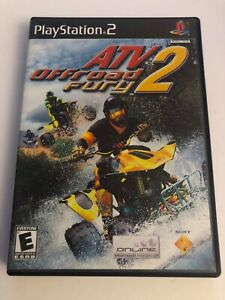 ATV Offroad Fury 2 (Sony PlayStation 2  PS2) *COMPLETE - BLACK LABEL*