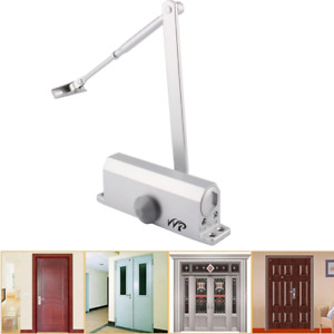 Heavy Duty 60 80kg Aluminum Commercial Door Closer Two Independent Valve Control