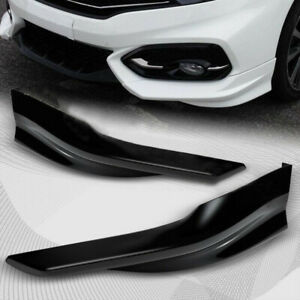 For 2014 2015 Honda Civic 2dr Hfp Style Painted White Front Bumper Spoiler Lip