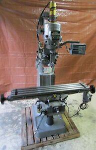 Bridgeport Series I 2j 2hp Vari Head R8 Vertical Knee Mill 9 X 48 Table
