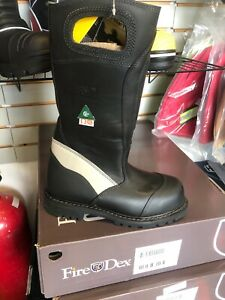 Fire Boot Nfpa 1971 Fire dex Fdxl 50 Leather Fire Boot Size 8 Wide Free Shipping